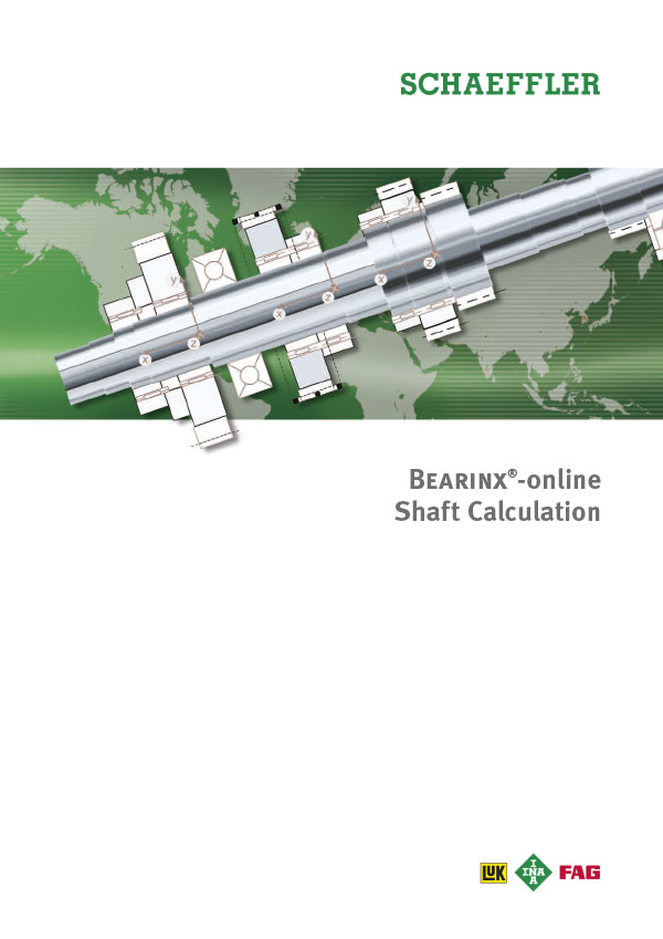 BEARINX®-online Shaft Calculation