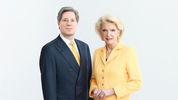 Shareholders Maria-Elisabeth Schaeffler-Thumann and Georg F. W. Schaeffler