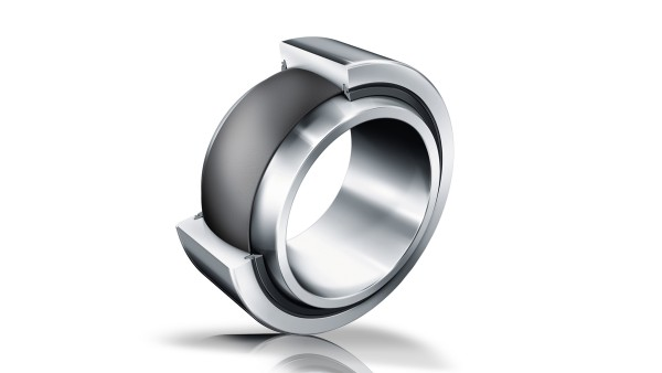 Maintenance-free spherical plain bearing