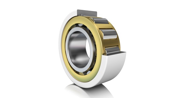 Current-insulating cylindrical roller bearing