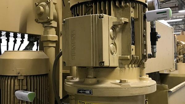 Monitoring motors in milling machines
